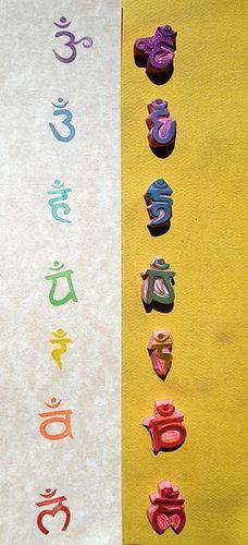 chakra stamp set