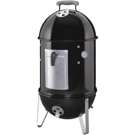 Weber 14.5 inch Smokey Mountain Charcoal Smoker, Black