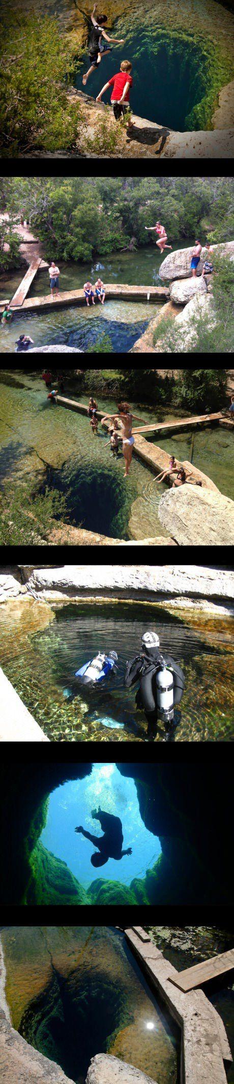 Jacob's Well, einer der wohl coolsten Orte der Welt – Win Bild