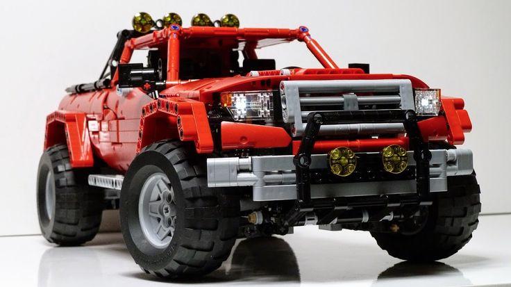 Lego Technic Madoca1977 Truck