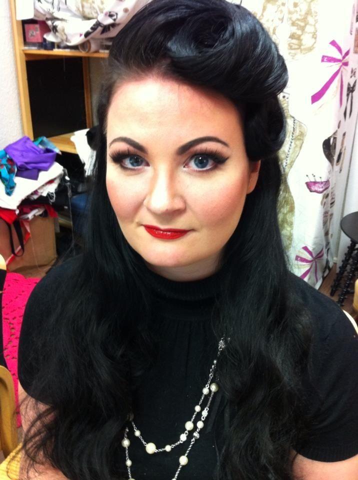 Hair and make-up by Karolina Heart