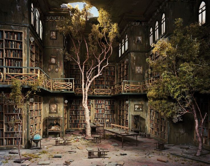 """After the Apocalypse"" Photography Series by Lori Nix / http://photovide.com/?p=186546"