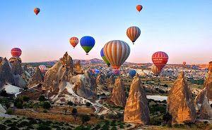Pemandangan Indah Cappadocia, Turki