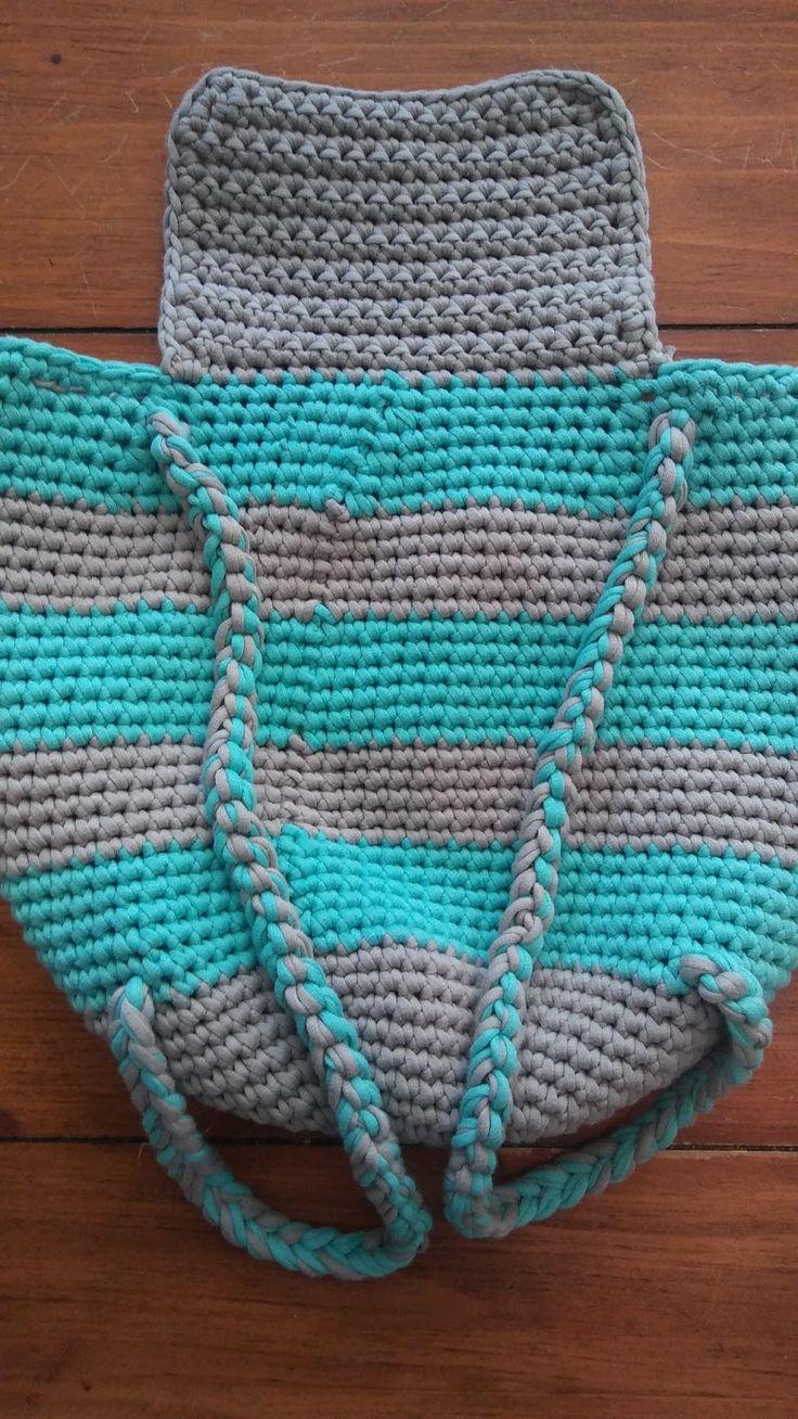 389 best Crochet/Knit bag 2/purse/tote images on Pinterest ...