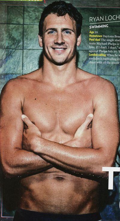 Ryan Lochte...I think I'm in love.