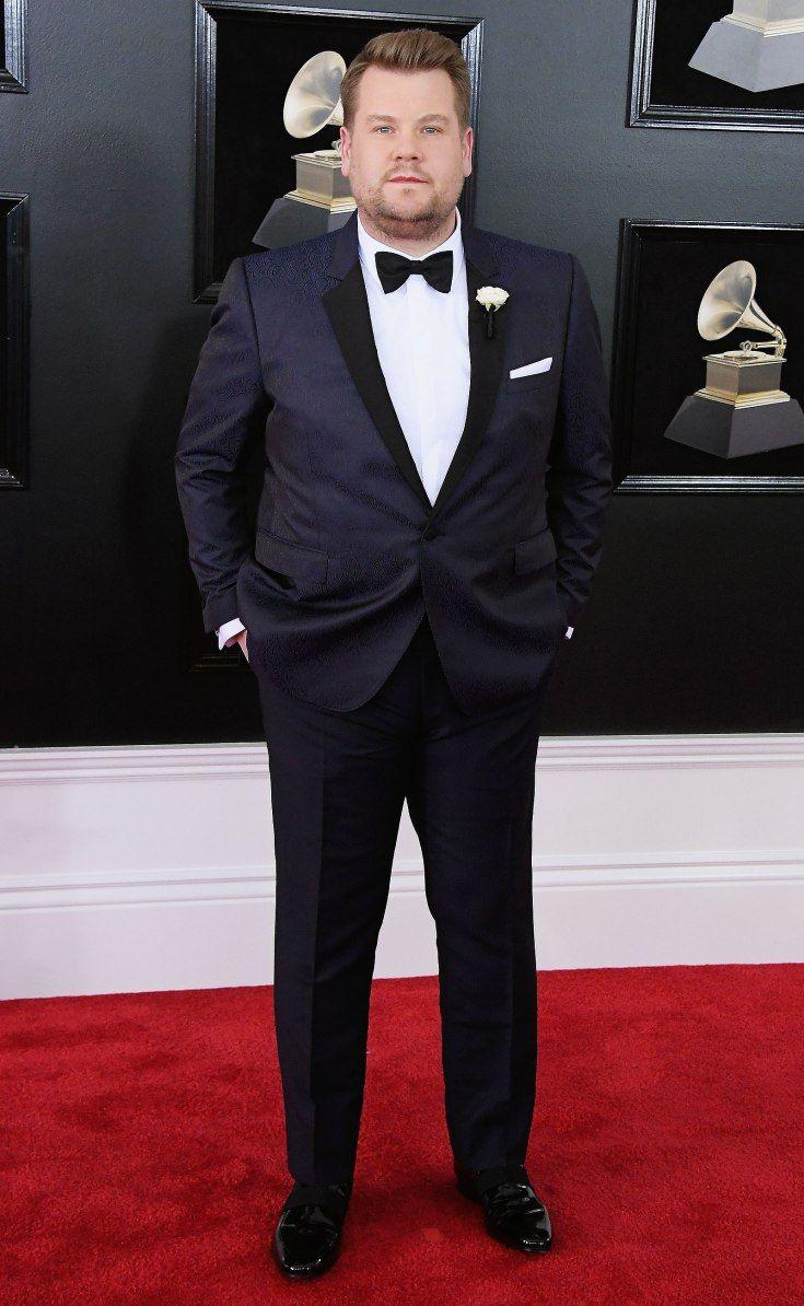 James Corden Big Men Fashion Large Men Fashion Wedding Suits Men