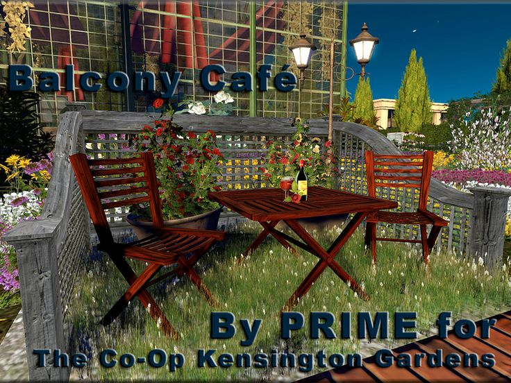 Balcony Café by PRIME for the Co Op Kensington Gardens