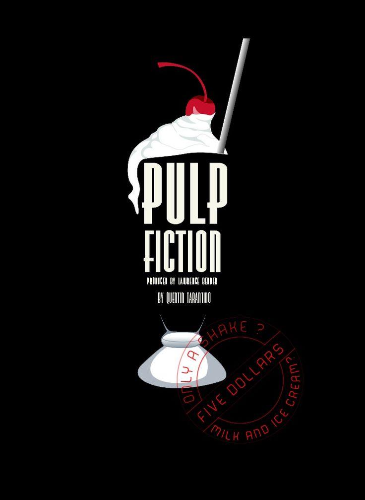 Pulp Fiction - fan art - $5 dollar shake (just milk and ice-cream - no bourbon)