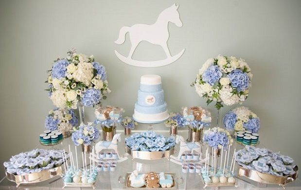rocking horse baby shower cake via The Pretty Blog, image by Nisha Ravji Photography, White Door Events