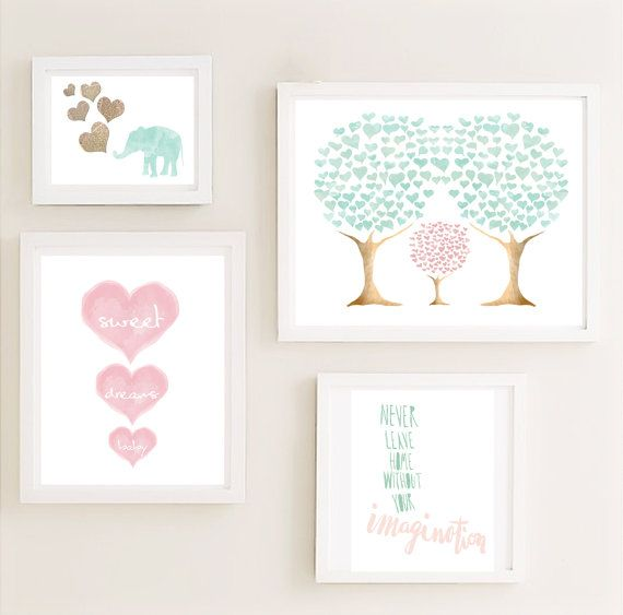 Unique Wall Decor For Nursery : Best ideas about kids poster on
