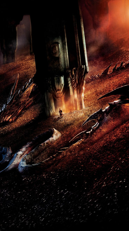 The Hobbit The Desolation Of Smaug 2013 Phone Wallpaper Moviemania The Hobbit Hobbit Desolation Of Smaug Desolation Of Smaug