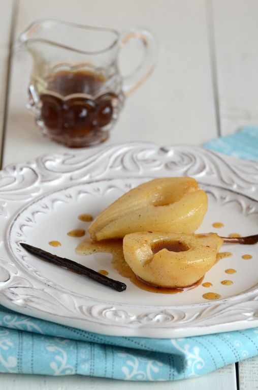 Vanilla Roasted pears Not strictly paleo, need to substitute natural ...