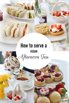 How to serve a vegan afternoon tea at home! | WallflowerGirl.co.uk #vegan