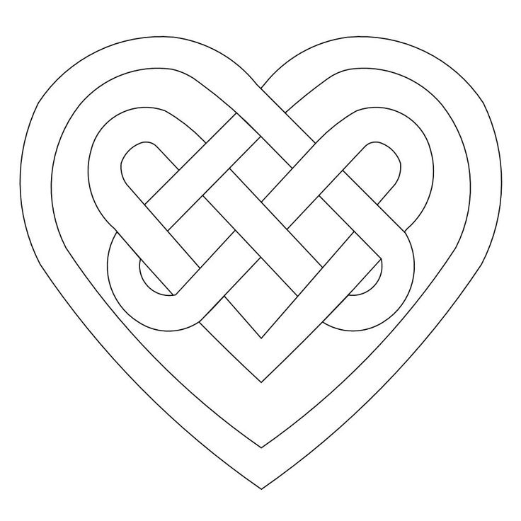 How to draw a celtic knot (or at least one of many ways).