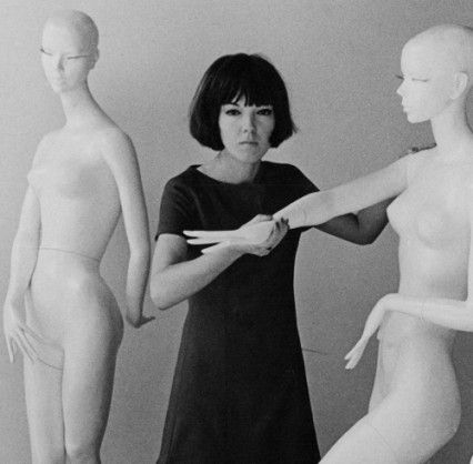Mary Quant in 1963 #60s  repinned by le  www.lecastingparisien.com