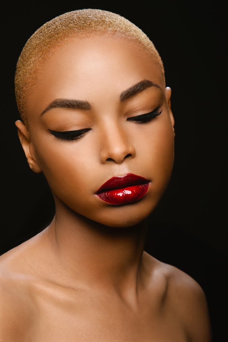 Image result for bald head for female