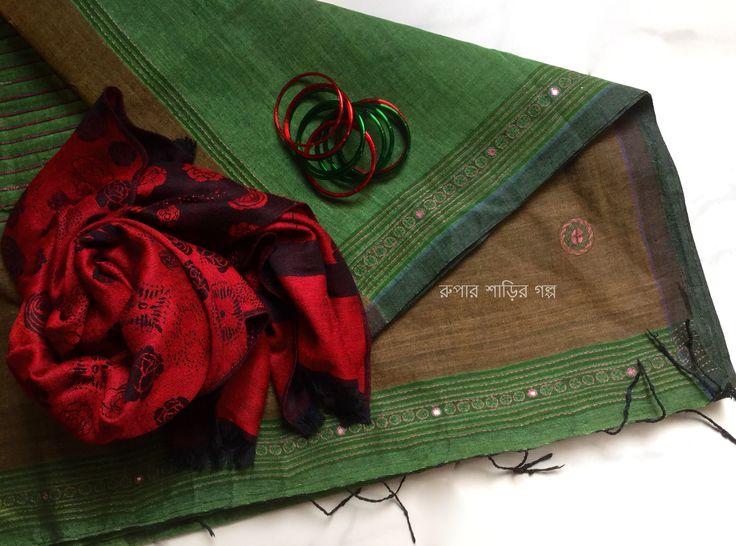 Cotton saree from Jatra