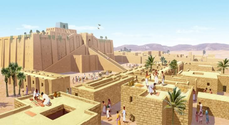 Ancient Mesopotamian City Of Ur Architectural History