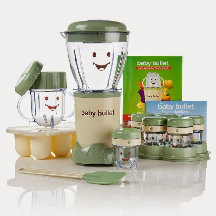 not your average blogger: Homemade baby food  Has recipes from 4 months to a year.  All with the baby bullet.  Very helpful