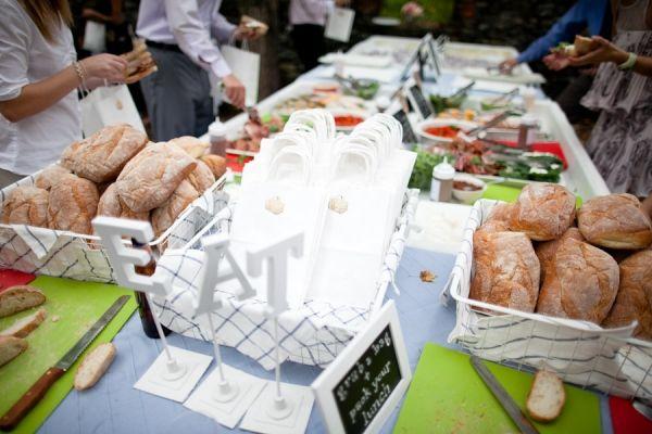 sandwich bar: Reception, Sandwiches, Wedding Food, Sandwich Bar, Wedding Ideas, Picnic Weddings, Picnics, Party Ideas, Deliajeff 485