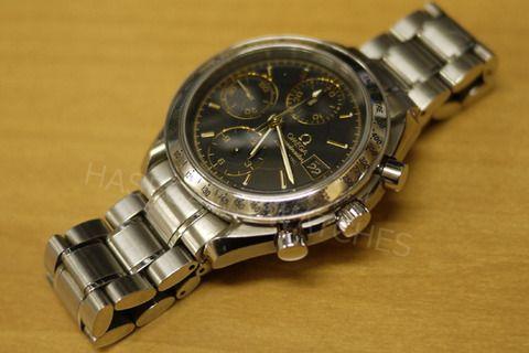 オメガ・スピードマスター(腕時計)の修理。オーバーホール(分解掃除)完了しました。 松江市のお客様からのご依頼でした。