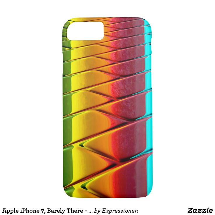 Apple iPhone 7, Barely There - Safe it! #smartphone #cover #cases #iphone #handy #handyhuelle #otterbox #bunt #muster #colorful #pattern
