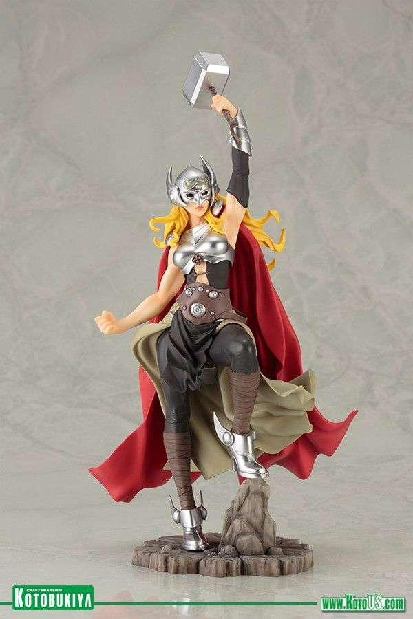 Check Out Kotobukiya's Jane Foster Thor Bishoujo Statue