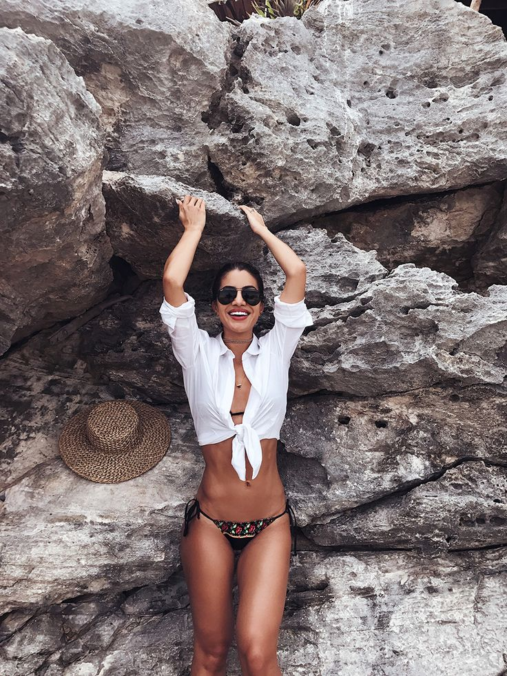 My loves! I am still in TULUM and as requested by all of you, I decided to do a post showing only the bikinis I have been wearing around here. I will do a separate post for the looks as well! I love beach fashion, I have several styles and I always like to vary. For...