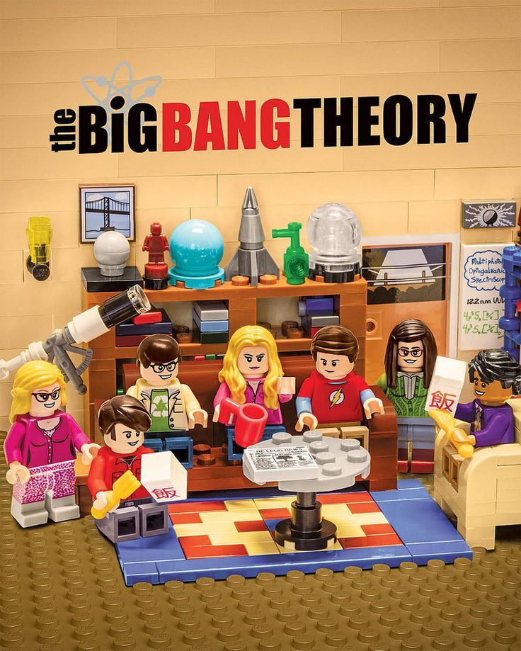 LEGO The Big Bang Theory http://www.flickr.com/photos/tormentalous/31916695984/