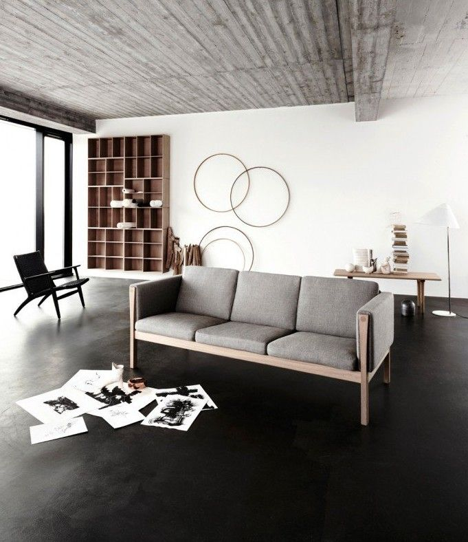 Best 20+ Estrich Ideas On Pinterest | Estrichboden, Designestrich ... Industrial Look Wohnzimmer