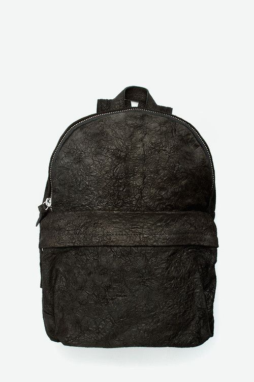 SILENT by Damir Doma Broto - leather backpack