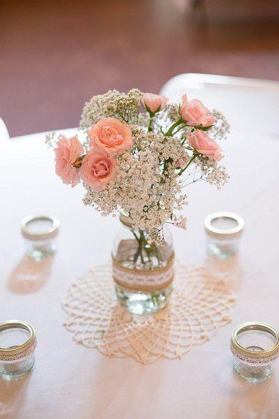 Baby's Breath Flower Ideas Wedding Flowers Photos on WeddingWire
