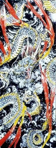 japanese dragon by Don Ed Hardy
