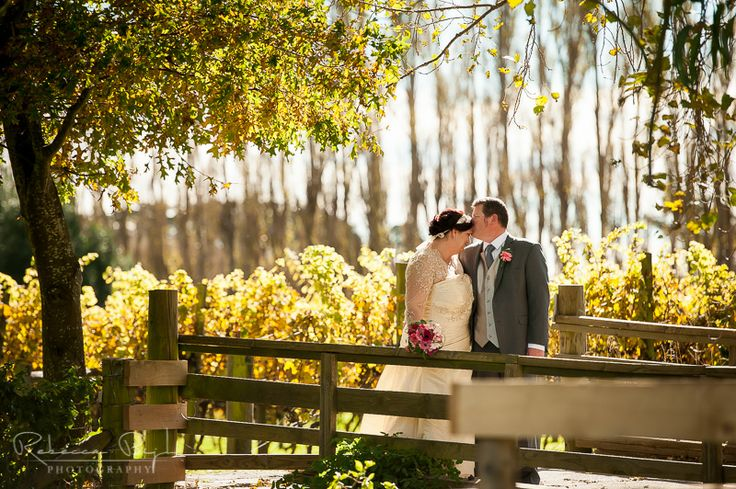 wedding portrait at cossars wineshed