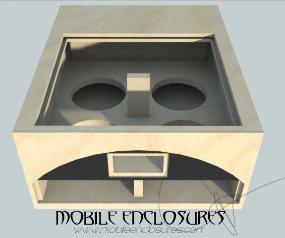 Quad DD Audio 3512 Subwoofer Box