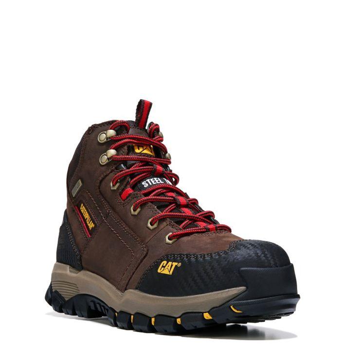 Caterpillar Men's Navigator Mid Medium/Wide Waterproof Steel Toe Boots (Clay Brown) - 10.5 M