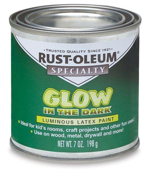 glow in dark paint