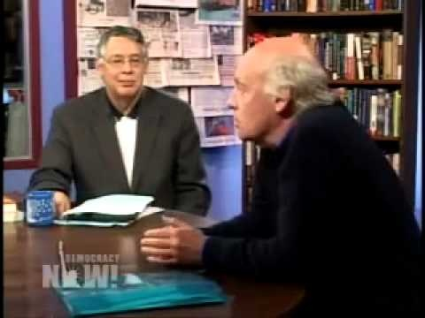 'Open Veins of Latin America' author Eduardo Galeano on Democracy NOW! 2006 Parte 1