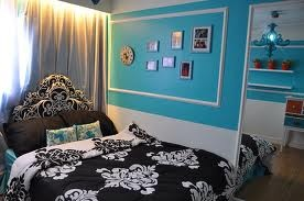 tiffany blue inspired room...this will be the style of my dorm!!:)