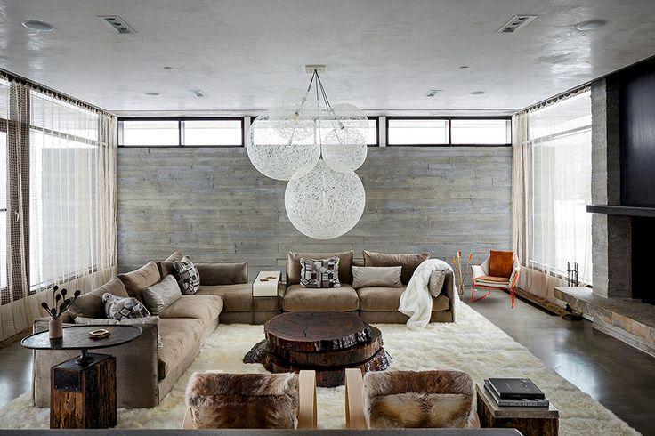 Проектное бюро Pearson Design Group построило современную резиденцию для отдыха в районе горнолыжного курорта Джексон Хоул, штат Вайоминг, США.