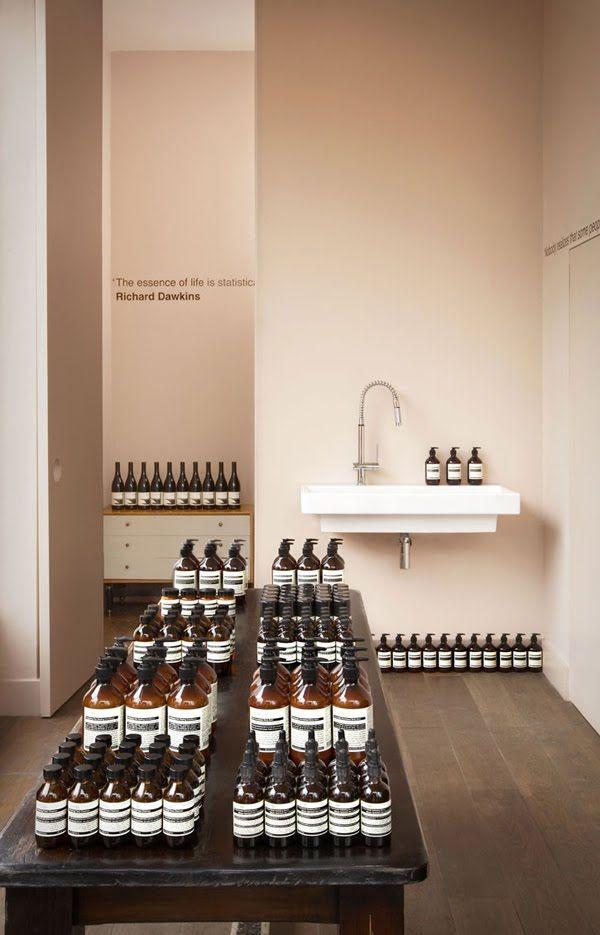 aesop shop in london #retail design