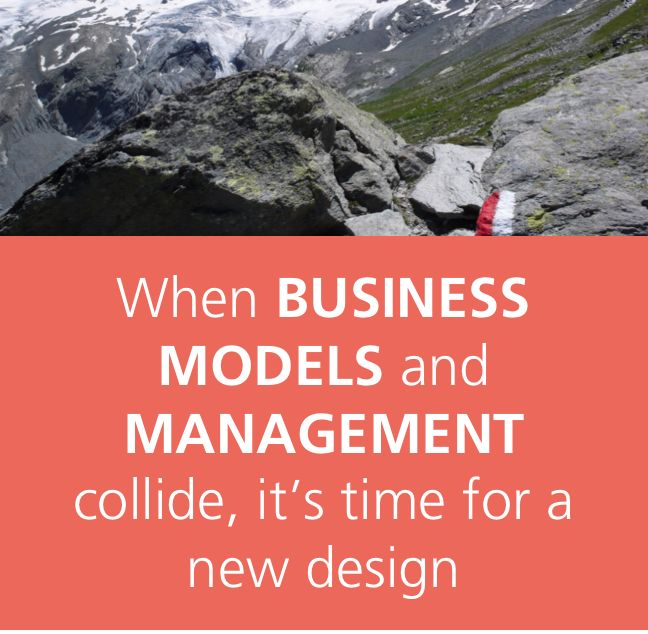 In a dynamic environment, the #businessmodel and #management must fit. Faulty #alignment causes interferences and limit the potential. Want to make the #agile #design shift? Here is how: http://www.agilityinsights.net & http://www.managementmodeldesign.net