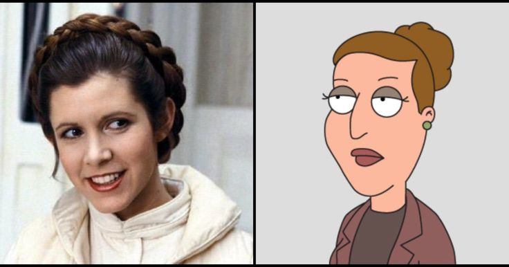 The Force Reawakens: Carrie Fisher Set To Feature In Upcoming 'Family Guy' Episodes - MoviePilot.com