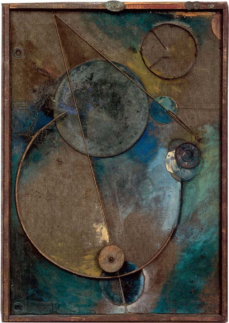 Inventing Abstraction - Kurt Schwitters, The Revolving, 1919.