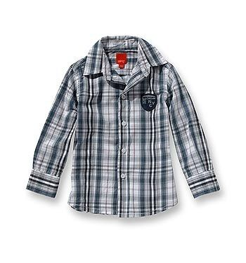 Kariertes Hemd - Esprit - Kindermode: Fashion für Kids - © Esprit Mit dieser karierten Bluse von Esprit ist Ihr Youngster immer gut angezogen. Das Modell ist sportiv-leger, aber auch bei feierlichen Anlässen ideal. Praktisch...