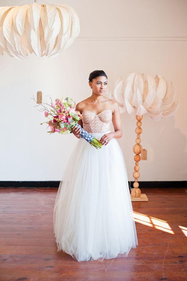 Rose Quartz by Yolande Snyders & Yellow Papaya | SouthBound Bride #shweshwe #wedding