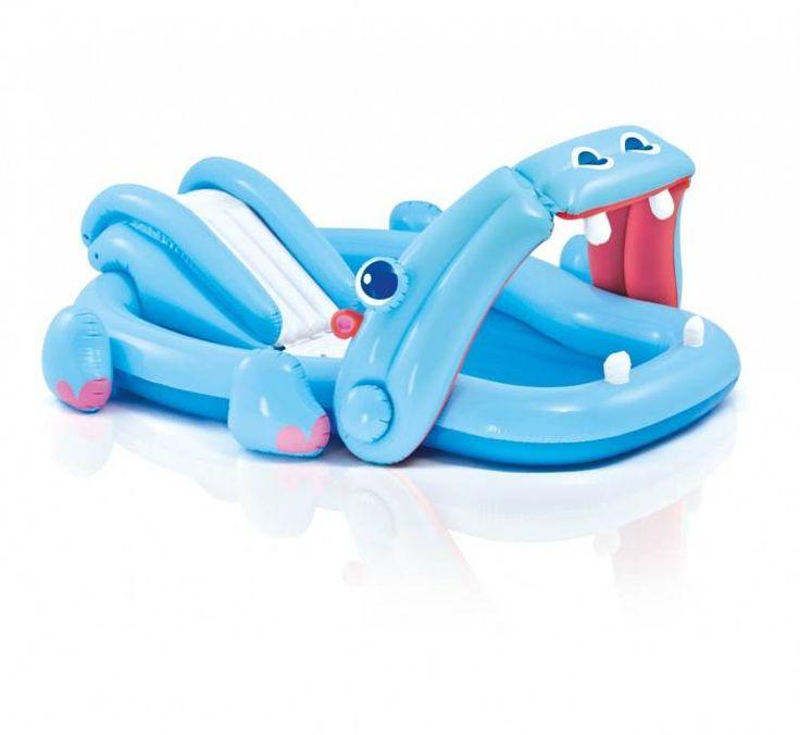 Nijlpaard Speelzwembad (Intex) #zwembad #zwembaden #intex #kinderzwembad #kinderzwembaden #speelzwembad
