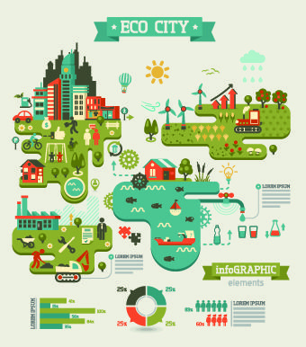 Business Infographic creative design 107 - Vector Business free download