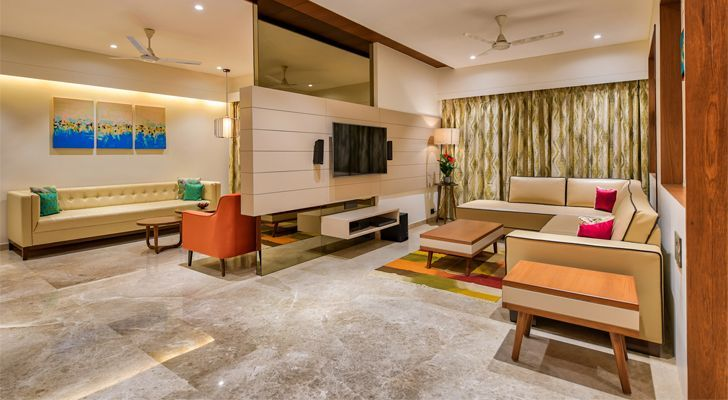 This Home Is Bathed In Colours Of Happiness With Images Home Interior Design Home Decor