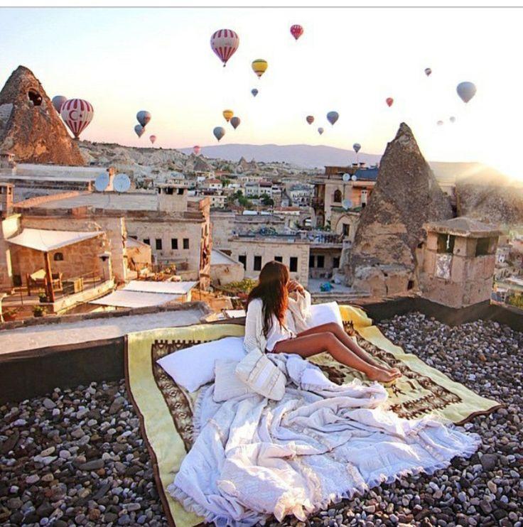 #Romantic #View # #hotairballoon